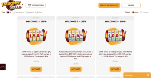 jackpot charm casino promotions